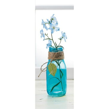 エイチツーオー/フレグラベース ライトブルー/H1784【01】【取寄】[6個]花器、リース 花器・花瓶 ガラス花器 手作り 材料