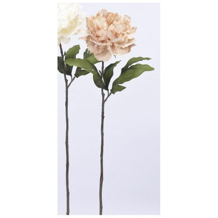 【造花】アスカ/ピオニー(ラメ付) #091P アイボリーピンク/A-73333-91P【01】【取寄】