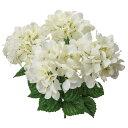 【造花】YDM/アジサイブッシュ ホワイト/FS-MB014...