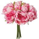 即日 【造花】YDM/ピオニーブーケ WBT/FB -2563-WBT 造花(アーティフィシャルフラワー) 造花 花材「さ行」 シャクヤク(芍薬)・ボタン(牡丹)・ピオニー 手作り 材料