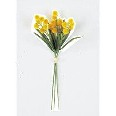 【造花】アスカ/ミモザバンチ(1束3本) イエロー/A-31892-10【02】《 造花 ミモ…