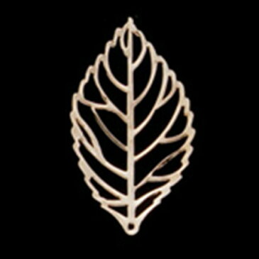 ミレニアムアート/アレンジパーツ シルバーリーフ中 ゴールド 10個/AEP101-24【01】【01】【取寄】《 花資材・道具 ブローチ・コサージュピン、金具 》