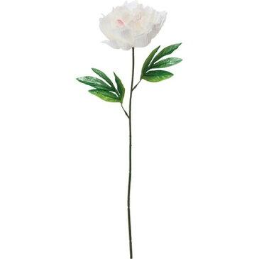 【造花】YDM/シングルピオニー クリーム/FF2833-CR|芍薬・牡丹【01】【取寄】