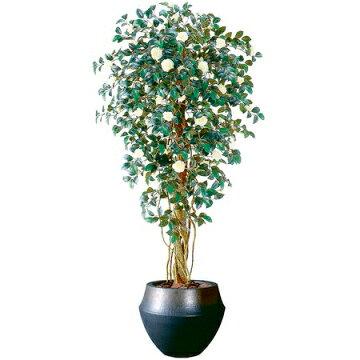 【直送】【人工観葉植物】オトメツバキリアナ