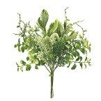 即日 【造花】MAGIQ(東京堂)/フレッシュグラスブーケ LT.GREEN/FG009342造花(アーティフィシャルフラワー) 造花葉物、フェイクグリーン その他の造花葉物・フェイクグリーン 手作り 材料