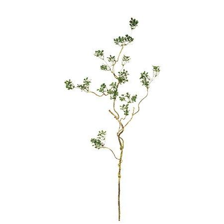 即日 【造花】MAGIQ(東京堂)/ハートリーフ ツイッグスプレー GREEN/FG002607