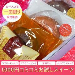【1000円コミコミ】当店の人気スイーツのお試しセット。のし、包装不可   【初めてのお客様...