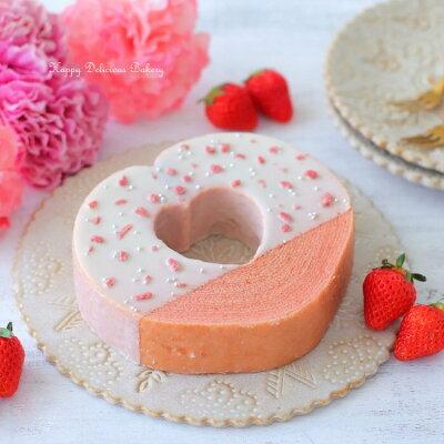 誕生日ケーキ以外のおすすめ絶品スイーツ HANAECHIZEN ハートの苺バウムクーヘン