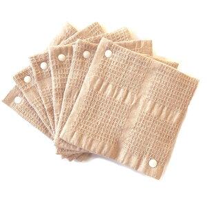 布ナプキン華布おりもの用スナップ付ライナーまとめ買いセットSサイズ6枚入りスナップボタン全7色
