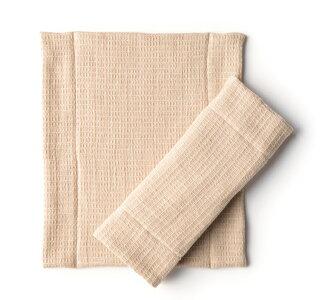 【お洗濯簡単!】華布のオーガニックコットンの布ナプキン★極み(kiwami)★Lサイズ1枚入り/極上のふんわり感//こだわりのオーガニックコットン100%/三つ折り/プレーンタイプ