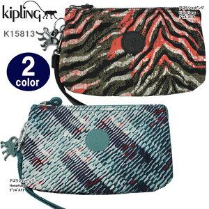 Kipling キプリング ポーチ K15813 Creativity XL ストラップ  ペンシルケース 化粧ポーチ  ブランド ag-858800