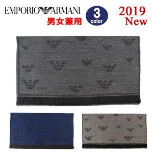 EMPORIO ARMANI マフラー 625056 9A361 エンポリオ・アルマーニ イーグル SCARF 薄手 メンズ レディース 男性 女性 男女兼用 ブランド ag-262300