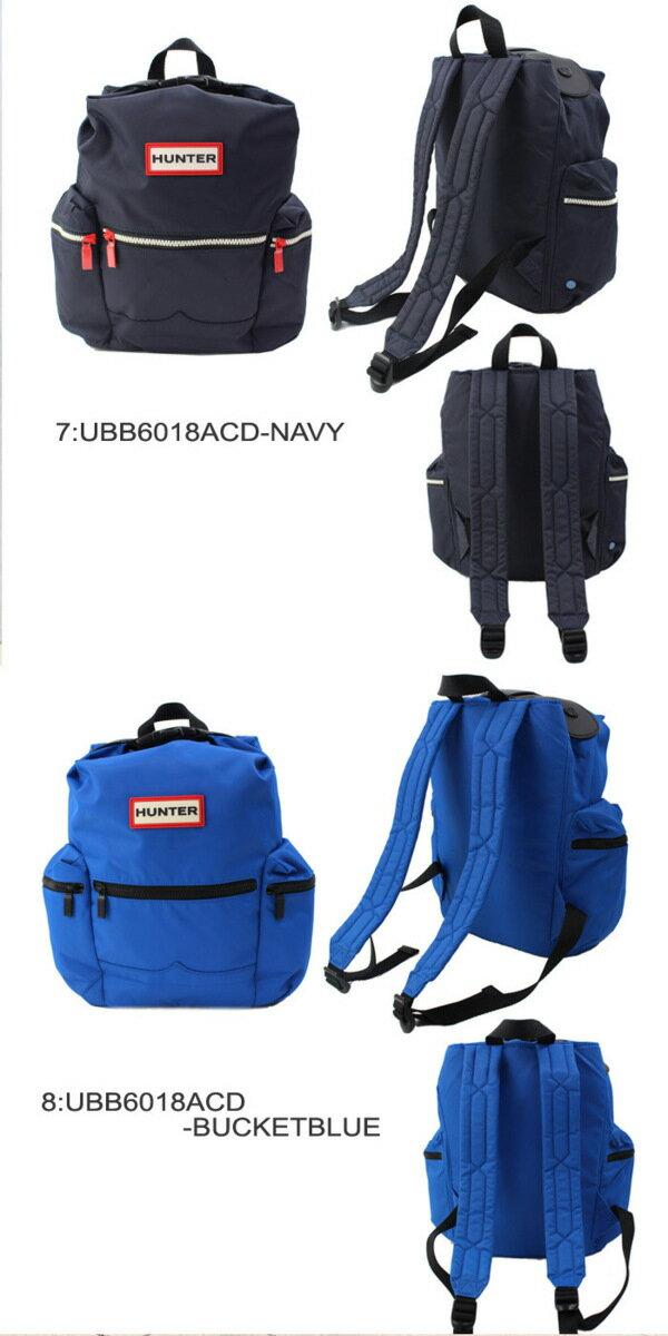 ハンター HUNTER バッグ ミニリュック UBB6018ACD サイドファスナーポケット オリジナルバックパック リュックサック 男女兼用 ブランド ag-1275