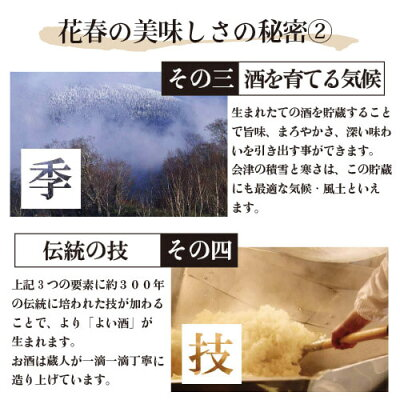 日本酒花春純米吟醸酒1,800ml