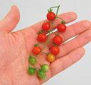 【野菜苗】【ミニトマト苗】マイクロトマトマイクロビーズ3号ポット自根苗