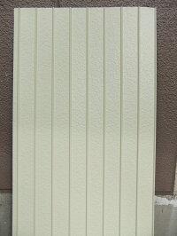 <送料無料>ガルバリュウム鋼板リブ波リブスターGL767尺2134ミリ6枚セットリブ山化粧鋼板外装材・内装材に!<アイボリーホワイトアーモンドパールライトブラウン色>