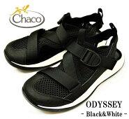 """【送料無料】【Chaco/チャコ】-MsODYSSEY""""BLACK&WHITE""""/メンズオデッセイ""""ブラック&ホワイト"""""""