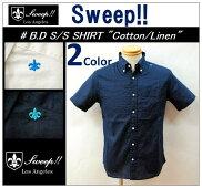 """【送料無料】【Sweep!!/スウィープ】-B.DS/SSHIRT""""COTTON/LINEN""""-"""