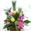 【送料無料】【正月飾り 生花 正月花】お正月限定のフラワーア