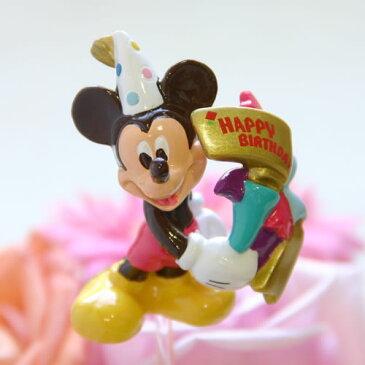 【フラワーギフト用オプション】ディズニー(Desney)キャラクターのバースデー・ピック/ミッキー【誕生日(バースデイ)のお祝いに|誕生日プレゼント(バースデープレゼント)に|パーティーのお花に|出産祝いに|サプライズに】