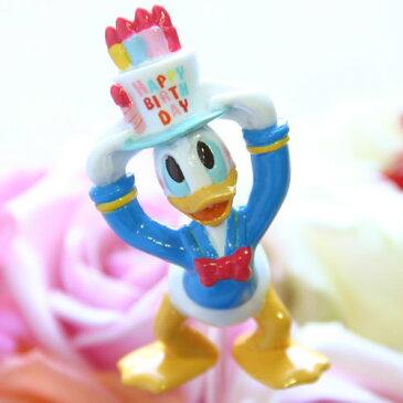 【フラワーギフト用オプション】ディズニー(Desney)キャラクターのバースデー・ピック/ドナルド【誕生日(バースデイ)のお祝いに|誕生日プレゼント(バースデープレゼント)に|パーティーのお花に|出産祝いに|サプライズに】