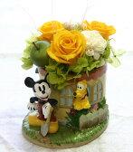 【プリザーブドフラワー】キャラフラ/ミッキーマウス(ディズニーの人気キャラクター、ミッキーとプルートのフラワーギフト)【誕生日や発表会、記念日のお祝い/出産祝い、新築祝いのプレゼントに/お見舞いに】【送料無料】(ブリザードフラワー/ブリザーブドフラワー)