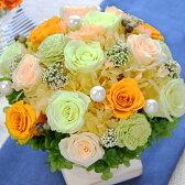 プリザーブドフラワー/ジェントリー【送料無料】誕生日 お見舞い 結婚記念日 新築祝い 開店祝い お祝い 花 ギフト プレゼント バラ(ブリザードフラワー/ブリザーブドフラワー/ドライフラワー/造花)