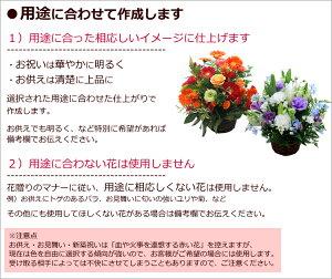 季節の花のアレンジ-用途-