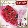 赤いバラ20本の花束 バラ花束ギフト 赤バラ花束 誕生日プレゼント 誕生日花束 赤バラの花束 プロポーズ花束 バースデー花束 赤いバラの花束 赤いバラの花束プレゼント 赤いバラの花束贈り物 送料無料