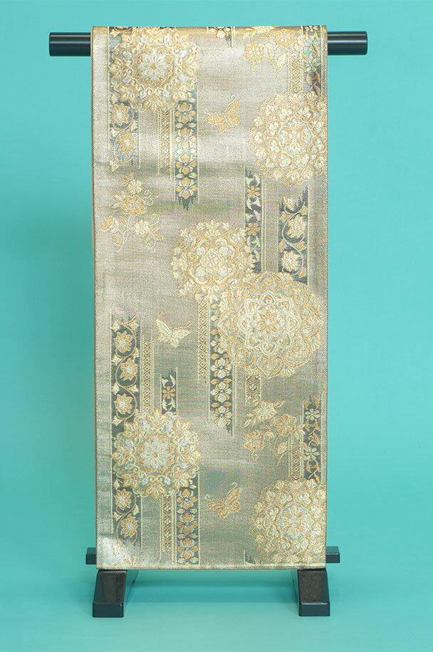留袖用着物レンタルフルセット用帯(留袖用):obi004【レンタル】