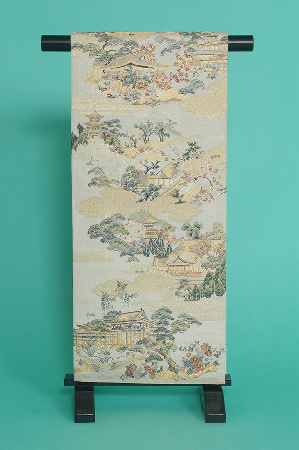 留袖用着物レンタルフルセット用帯(留袖用):obi016【レンタル】