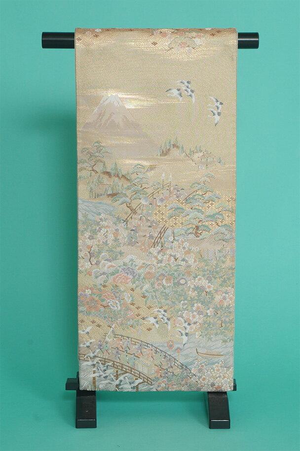 留袖用着物レンタルフルセット用帯(留袖用):obi019【レンタル】