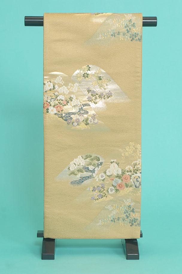 留袖用着物レンタルフルセット用帯(留袖用):obi029 〔帯〕〔袋帯〕〔正絹〕【レンタル】