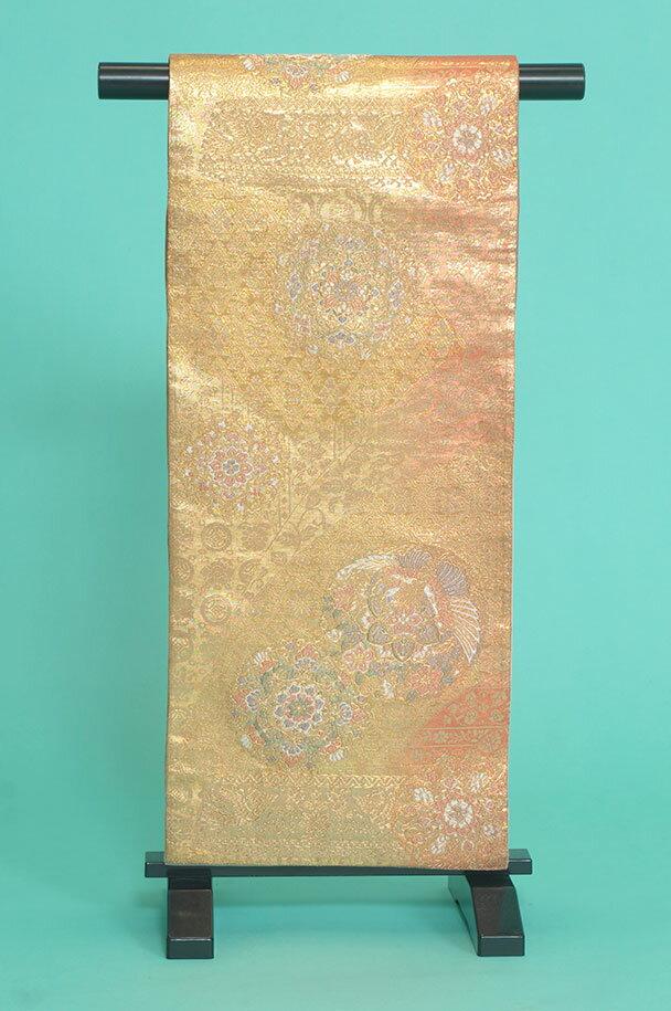 留袖訪問着レンタルフルセット用帯:obi032 〔帯〕〔袋帯〕〔正絹〕〔留袖〕〔訪問着〕【レンタル】