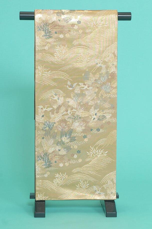 留袖用着物レンタルフルセット用帯(留袖用):obi033 〔帯〕〔袋帯〕〔正絹〕【レンタル】