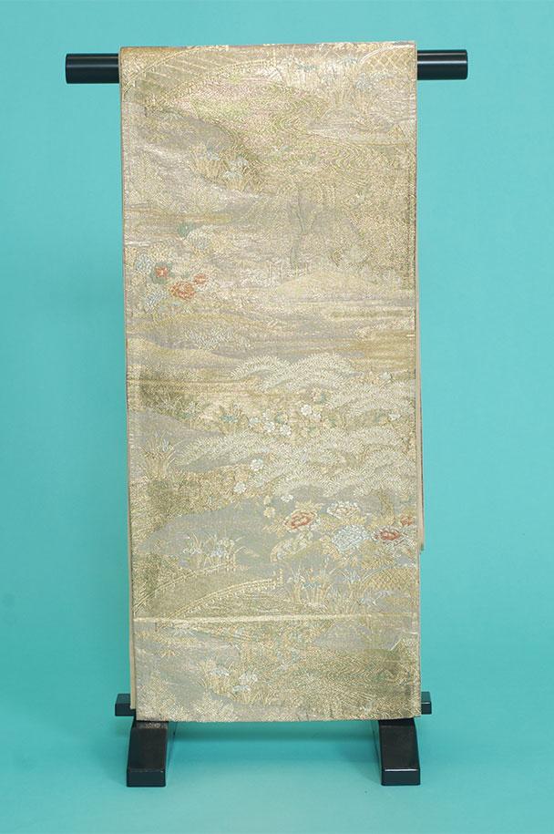 留袖用着物レンタルフルセット用帯(留袖用):obi034 〔帯〕〔袋帯〕〔正絹〕【レンタル】