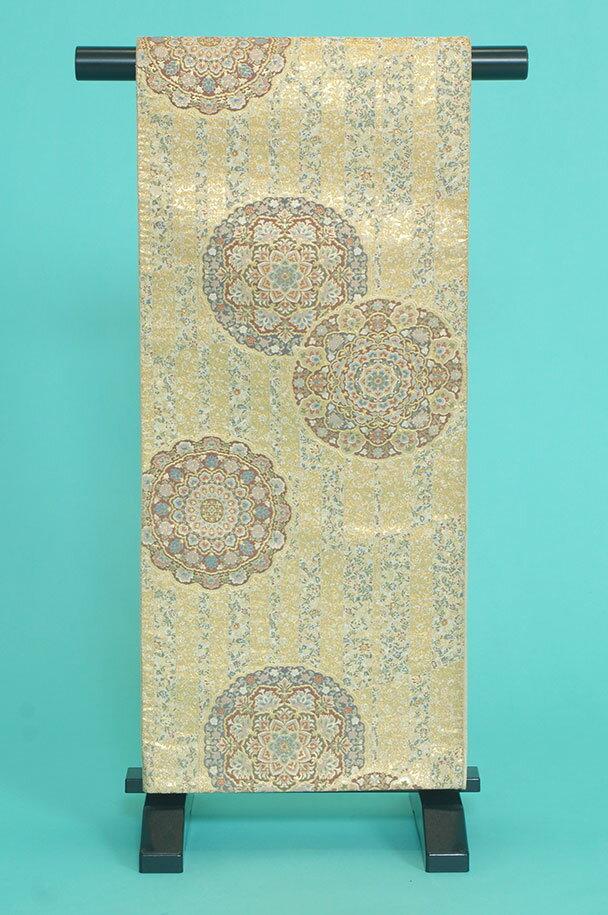 留袖用着物レンタルフルセット用帯(留袖用):obi035 〔帯〕〔袋帯〕〔正絹〕【レンタル】