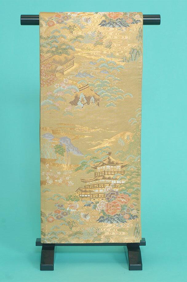 留袖用着物レンタルフルセット用帯(留袖用):obi036 〔帯〕〔袋帯〕〔正絹〕【レンタル】