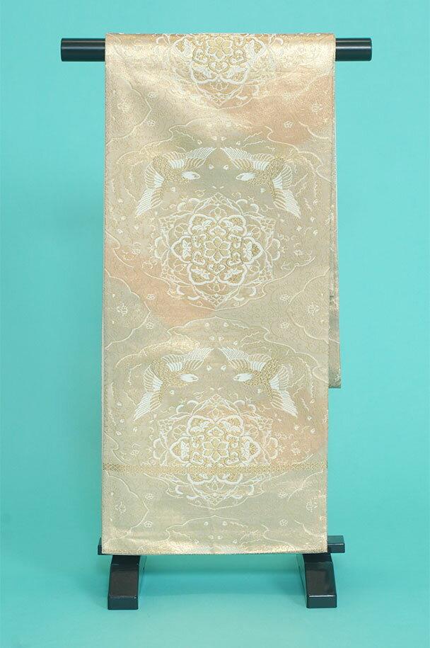 留袖用着物レンタルフルセット用帯(留袖用):obi048 〔帯〕〔袋帯〕〔正絹〕【レンタル】
