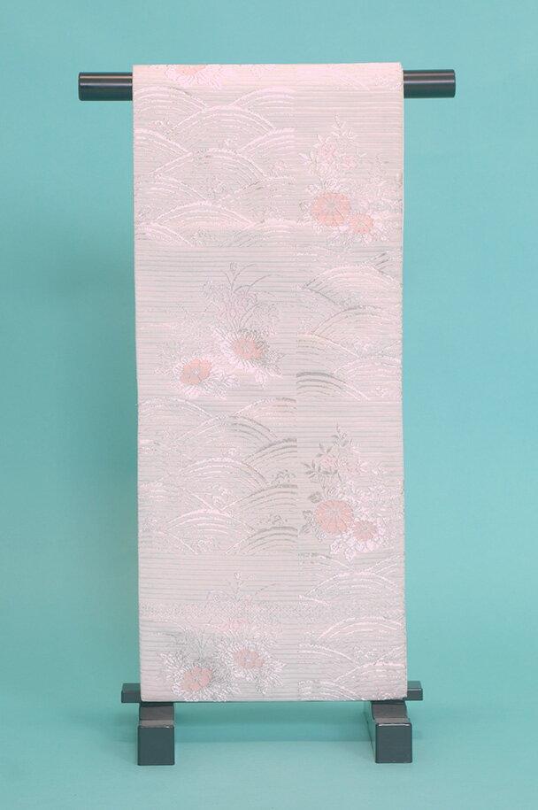 留袖訪問着レンタルフルセット用帯(夏物):obi068 〔帯〕〔袋帯〕〔正絹〕〔留袖〕〔訪問着〕【レンタル】