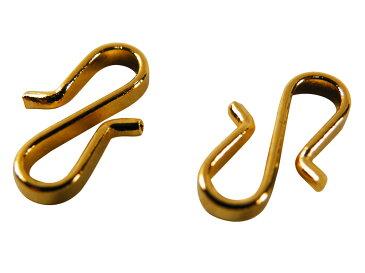 羽織紐用 金具 S環 エスカン 2個入り ケースなし 大or小 【ゆうメール可】so-65
