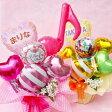 名入れが出来る! バルーンギフト / バルーン&造花アレンジ ●balloon54● / 送料無料 発表会 ピアノ ダンス バレエ 誕生日 記念日 結婚祝M-P4