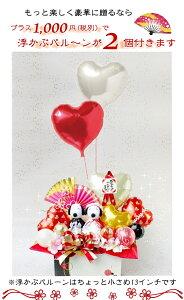 送料無料!スヌーピーウェディングドール幸せ運ぶバルーン電報バルーン&造花フラワーギフトRフリー-B505-P特大