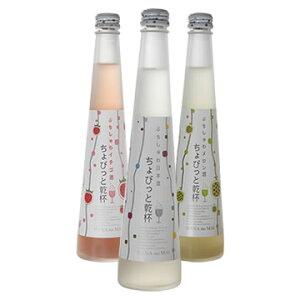 花の舞 【送料無料】ちょびっと乾杯3種セット・ぷちしゅわ日本酒(300ml)×1・ぷちしゅわメロ...