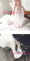☆ロングレーススカートが可憐なスカッツ(レギンス付スカート)☆(2color)韓国子供服インポート女の子女児ガールズ刺繍春物アンバーラブリーガーリー【Amber正規品】