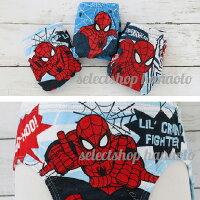 【UW-SET009】☆マーベルスパイダーマンボーイズパンツ3枚組セットB☆【正規ライセンス品】(サイズ100/110/120/130)Marvel/Spiderman/男の子用/下着/男児/肌着/ショーツ/ブリーフ/インポート【SPD-】