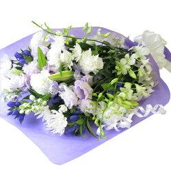 お供えの花供花仏壇にお供えする花生花花束お悔やみ本州は送料無料四十九日仏花あす楽
