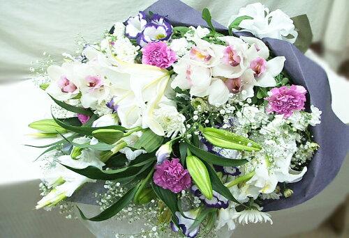お供え 花 お悔やみの花束 供花 送料無料