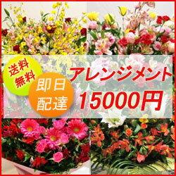 フラワーコンシェルジュが厳選した花屋のお祝いアレンジメント花 15000円 ...