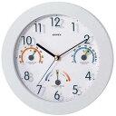 EMPEX 掛け時計 トキメクス快適計 TQ-736 オフホワイト